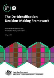 De-identification Decision-Making Framework thumbnail